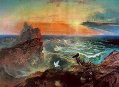 L assouvissement des eaux de John Martin (1789-1854, United Kingdom)