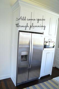 Kitchen Cabinet Remodel, Diy Kitchen Remodel, New Kitchen Cabinets, Kitchen Redo, Kitchen Modern, Kitchen Ideas, Kitchen Planning, Narrow Kitchen, 1960s Kitchen