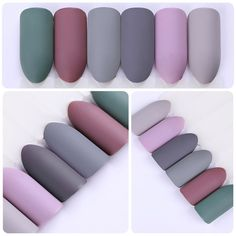 Want some ideas for wedding nail polish designs? This article is a collection of our favorite nail polish designs for your special day. Matte Gel Polish, Gel Polish Colors, Nail Polish Designs, Uv Gel Nails, Gel Nail Art, Nail Colors, Acrylic Nails, Matte Nails, Color Mate