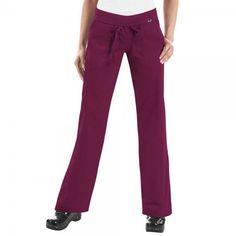 Koi Morgan Scrub Trousers in Merlot. If you like your comfort, then these  koi