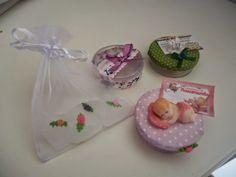 MissFelicidade Lembrancinhas: sachê coração, caixinhas chà bebê, nascimento