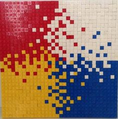 Custom LEGO mosaics
