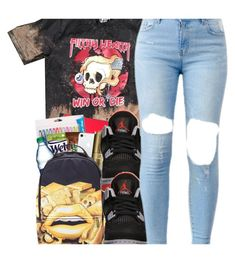 """""""Win or Die ☠️"""" by perfectlyjayx ❤ liked on Polyvore featuring Retrò"""