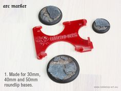 Arc-Marker - 1. Made for 30mm, 40mm and 50mm roundup bases.