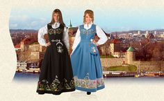 BUNADER - Oslodrakt fra Steen og Strøm Folk Costume, Costumes, Going Out Of Business, My Heritage, Bridesmaid Dresses, Wedding Dresses, Oslo, Norway, All Things