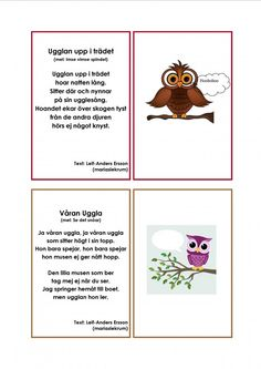 Learn Swedish, Swedish Language, Montessori, Pre School, Teaching Resources, Singing, Crafts For Kids, Songs, Education