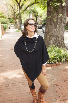 #Tassel #Poncho #Fashion