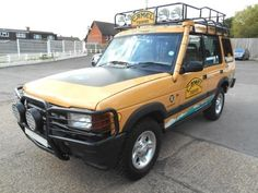 Land Rover Discovery Camel Trophy Edition V8i LPG PETROL MANUAL 1998/S for sale in UK
