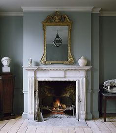 So I know this won't go in my house...but i love this fireplace...maybe someday