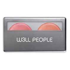W3LL People Nude Multi-Use Color Duo Nude Berry and Peach 0.2 oz, Nude Berry & Nude Peach