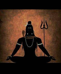 Mahadev - beautiful Shiva, a perfect symbol to meditate on.alternatively one can meditate one ones favourite deity or Ishta Dev (or Divine Mother Durga-Parvati, the consort of Lord Shiva). Rudra Shiva, Mahakal Shiva, Shiva Art, Lord Hanuman Wallpapers, Lord Shiva Hd Wallpaper, Lion Wallpaper, Mobile Wallpaper, Wallpaper Quotes, Wallpaper Backgrounds