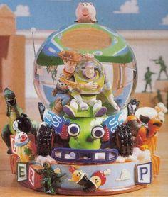 Disney Pixar 1st Toy Story Snowglobe
