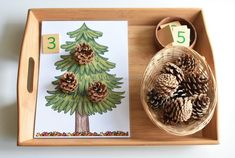 25 Nature Inspired Letter F Activities Preschool Christmas, Preschool Math, Christmas Activities, Winter Activities, Montessori Activities, Learning Activities, Preschool Activities, Preschool Decorations, Montessori Homeschool
