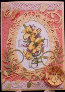 He is Risen Stamp set from Flourishes by Karen W.