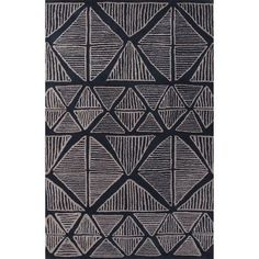 Langley Street Palm Springs Blue & Gray Area Rug Rug Size: 2' x 3'