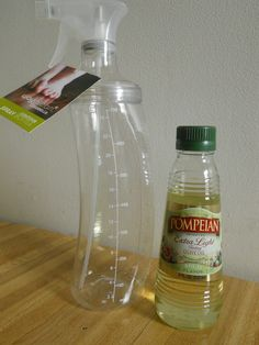 No More Pam! Here's How to Make Your Own Homemade Cooking Spray! #DIY  #nontoxic http://www.petrashop.com/