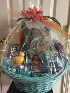 A personal favorite from my Etsy shop https://www.etsy.com/listing/505402136/moana-birthday-basket