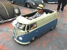 VW van - too cool!