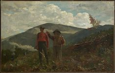 Homer, Winslow - Deux guides - The Clark Institute, Williamstown, MA