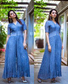 Rakul Preet Singh Latest Blue Dress Photo shoot