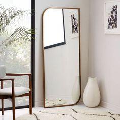 Rose Gold Floor Mirror (urbnite