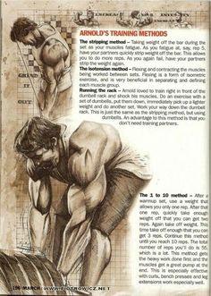 Kako je treniral Arnold:) www.funkcionalnit...