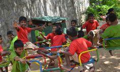Playground at Kalapuwa Sri