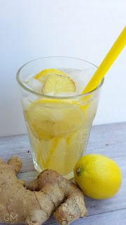 Domácí limonády | pazitka.cz Ginger Lemonade, Summer Drinks, Mojito, Smoothie, Pudding, Desserts, Food, Fine Dining, Summer Beverages