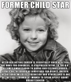 This is awesome! And then there's the child stars that end up being Amanda Bynes--Ridiculous.