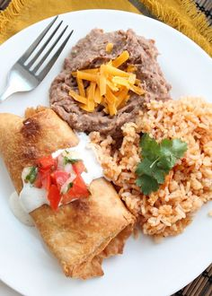 I realize this is a pretty bold claim but this really is the Best Ever Chicken Chimichanga Recipe. I got it about 8 years ago from my sister. She got it from someone she goes to church with. I have made it countless times since and every time I do people RAVE about them. Seriously …