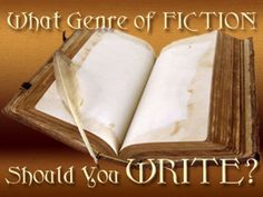 Take the quiz to see what Genre of Fiction would be easiest for you to write! (Warning: Text Heavy.)