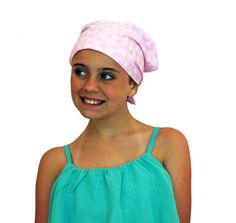 Mia Childrens Head Cover Girls Cancer by InspirationalHeadCov