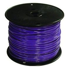 #16 Purple TFFN Stranded Wire, Pack of 500 by Southwire Company. $59.99
