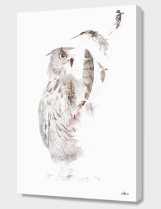 """""""Fade-out"""", Numbered Edition Canvas Print by Robert Farkas - From $89.00 - Curioos"""