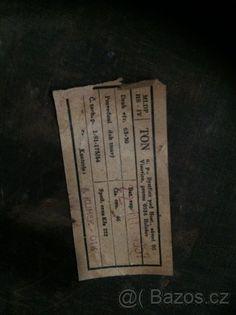 Prodam lampu - Ton rok 1954. - 1
