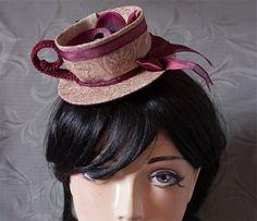 Cunene Orchid Tea Cup Mini Hat Fascinator by cunene on Etsy