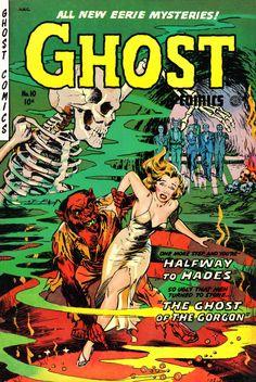 Ghost Comics No. 10 Pulp Comic Book Cover Poster
