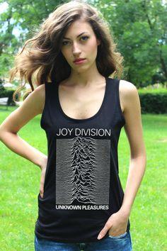 Joy Division Unknown Pleasures Tank Top Punkrock Women von RockSin