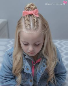 160 Braids Hairstyle Ideas for Little Kids # cute Braids for kids 160 Braids Hairstyle Ideas for Little Kids 2019 - Page 18 of 160 - Soflyme Shaved Side Hairstyles, Sporty Hairstyles, Kids Braided Hairstyles, Box Braids Hairstyles, Trending Hairstyles, Little Girl Hairstyles, Hairstyle Ideas, Hairstyle For Kids, Cute Kids Hairstyles