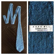 Eksempel på de lækre slips man kan købe på www.harboll.dk