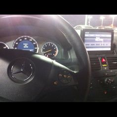 Test drive of the C300 Sport.