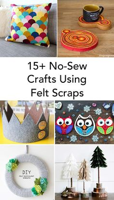 15+ No-Sew Crafts Us