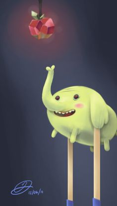 Tree Trunks. Awesome Robo!: 30 Days Of Adventure Time (More Like 36)