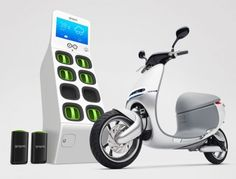 Gogoro Smart scooter with Gogoro Energy Network for Clean Energy on Gadgets Empire http://www.gadgetsempire.com