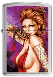 "Jennifer Janesko ""Flamenco"" Dancer Zippo lighter"