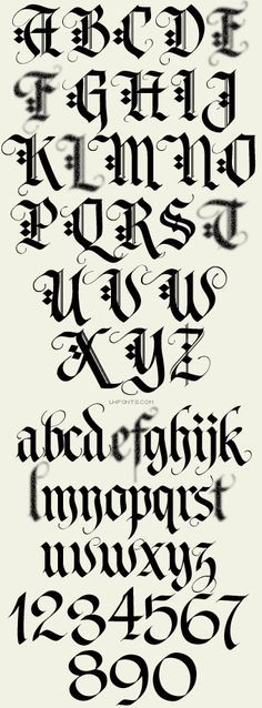 Letterhead Fonts / LHF Tributary / Old English Fonts