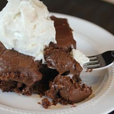 Cracker Barrel chocolate cake