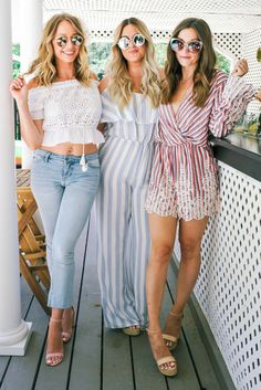 Hamptons-Inspired Summer Fashion with Charlotte Russe / via Pineapple & Prosecco