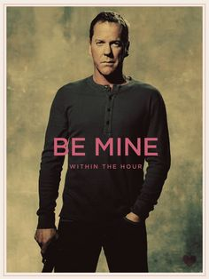 Jack Bauer knows how to ask a girl to be her valentine