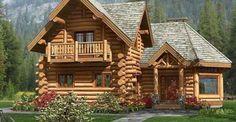 Picturesque Log Home Design